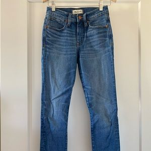 "Madewell 9"" High-Rise Skinny Crop"